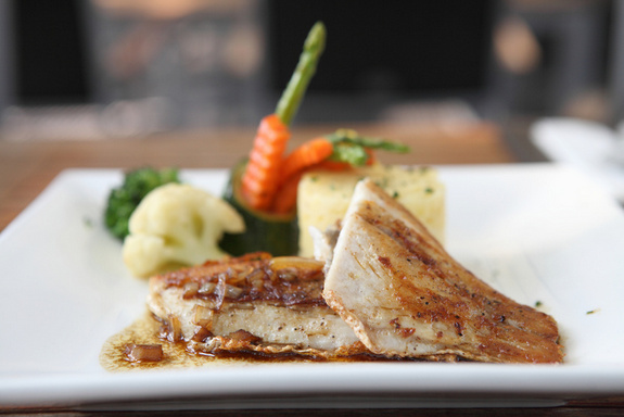 alligator hall, Sarah Sanford, cooking and grilling, seafood by the sea, hogfish